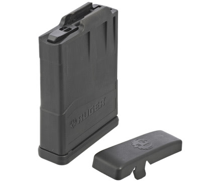 Ruger Precision/Scout Magazine Short Action - 10rd - Black Glass-Filled Nylon