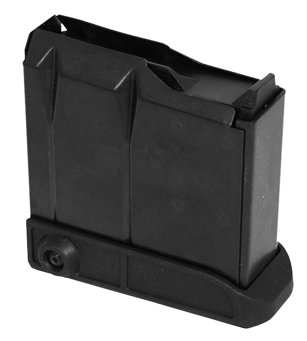 Tikka T3 Compact Magazine Short Action - 5rd - Black Polymer