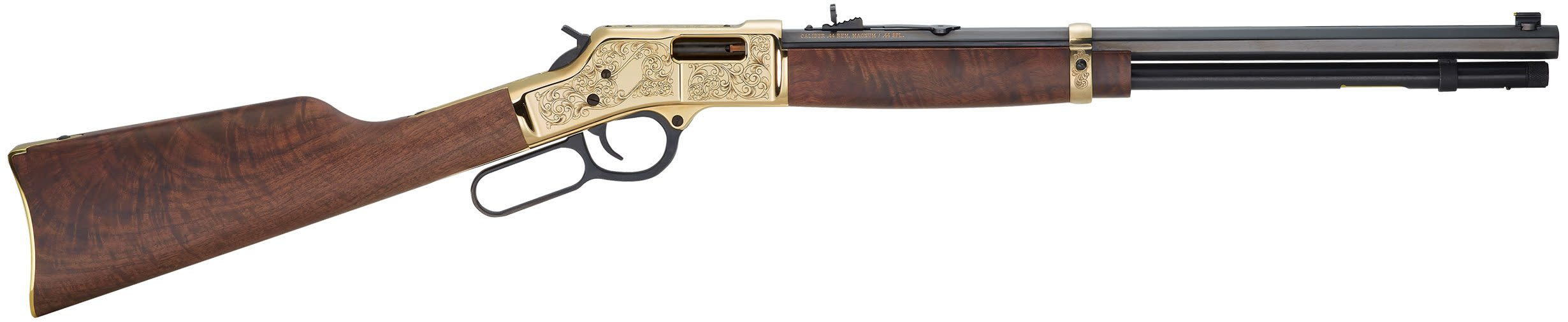 Henry Big Boy Deluxe Engraved 3rd Edition Lever-Action Rifle - 45 Colt 20