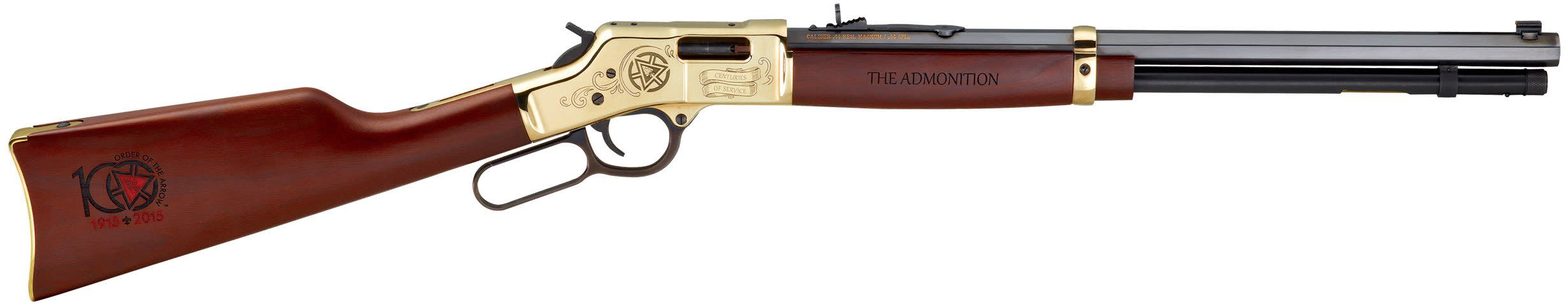 Henry Big Boy Order of the Arrow Centennial Edition Lever-Action Rifle - 44 Rem Mag 20