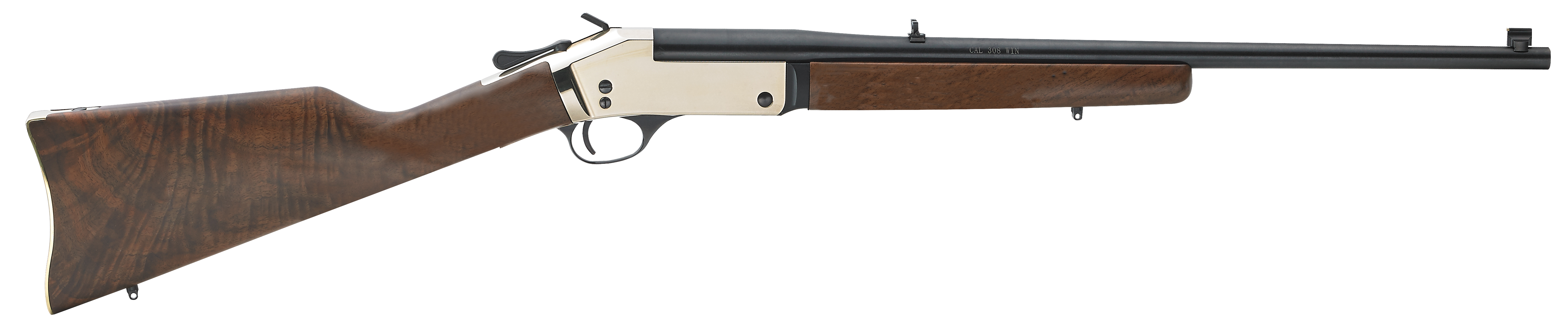 Henry Single Shot Brass Break Open Rifle - 357 Mag/38 Spl 22