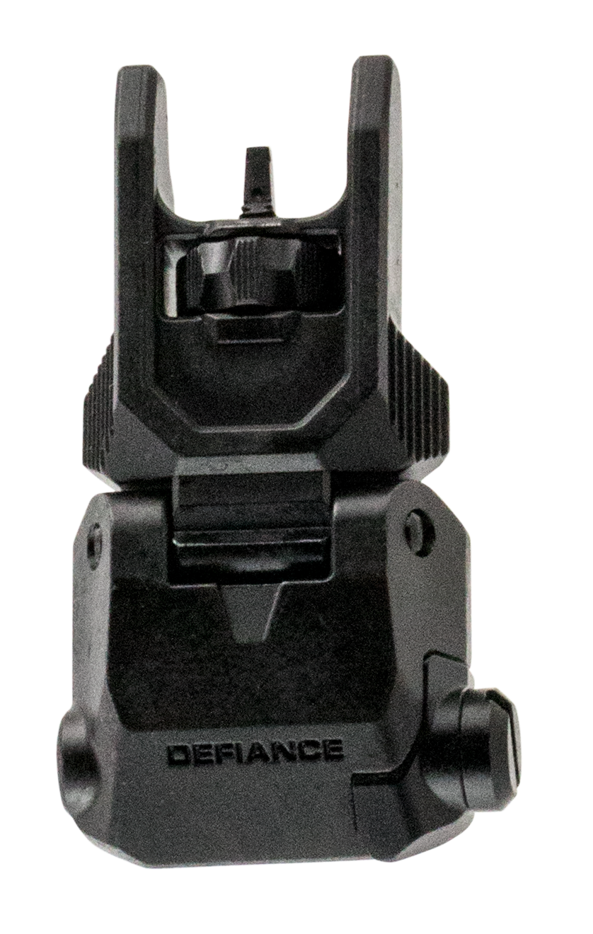 Kriss USA DAFSBL00 Defiance Steel Front Flip-Up Sight - Front AR Rifle Steel Black