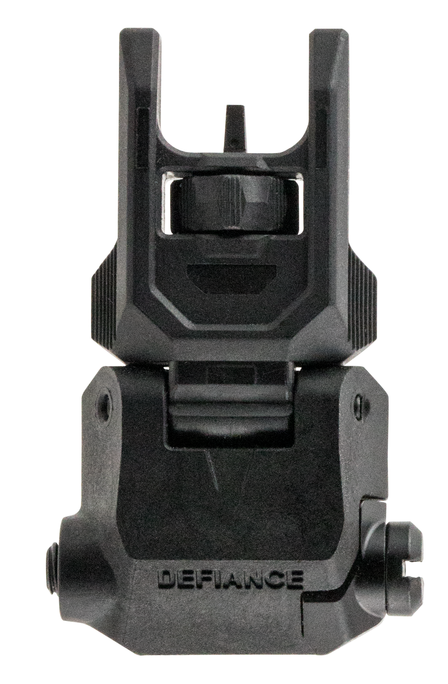 Kriss USA DAPFSBL00 Defiance Front Flip-Up Sight - Front AR Rifle Polymer Black