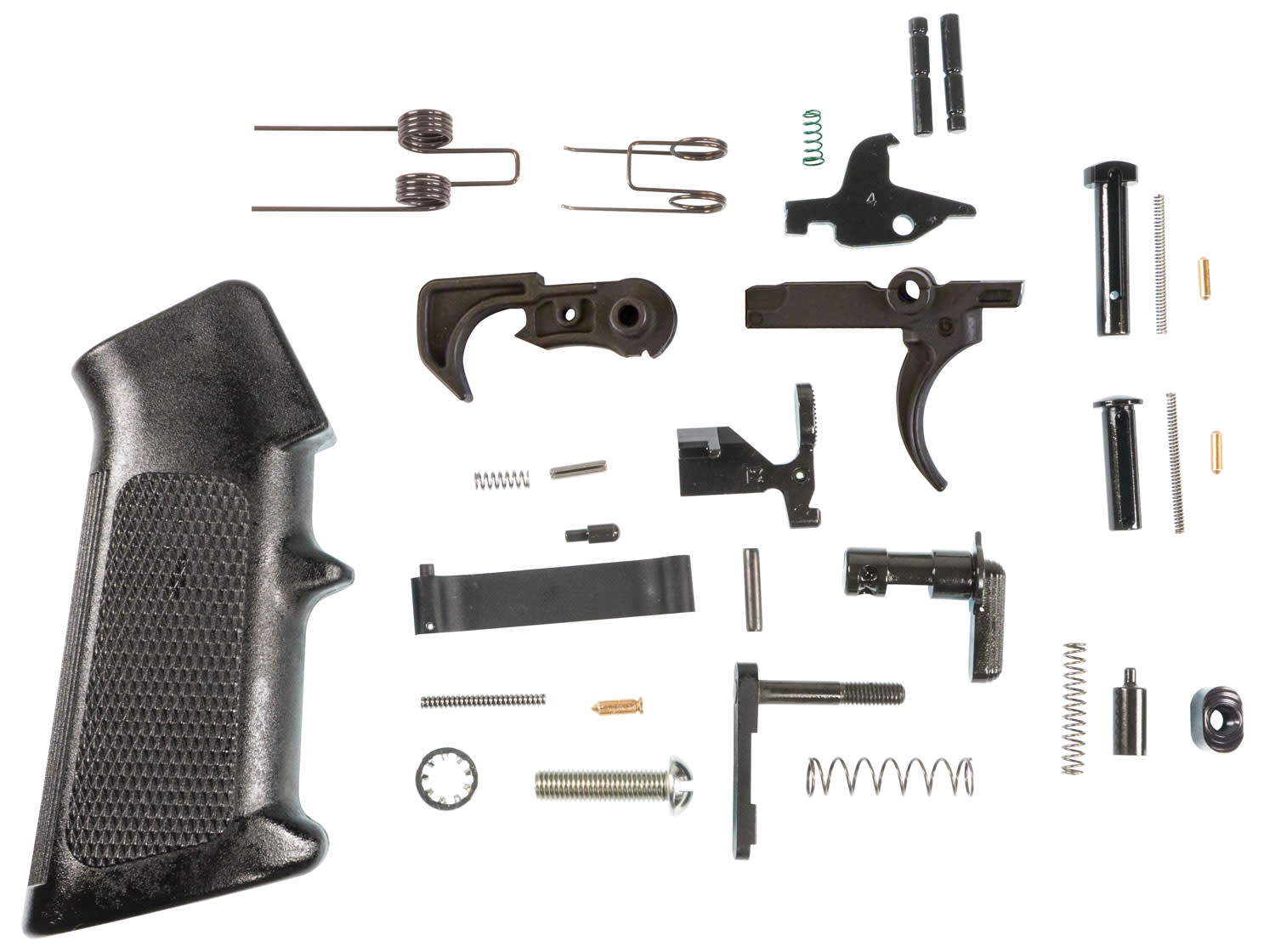 M&P Accessories 1085634 AR Lower Parts Kit  - AR-15  Platform