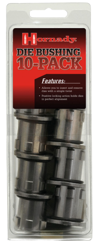 Hornady 044096 Lock-N-Load Die Bushings 10 Pack Universal 7/8-14 Thread Dies
