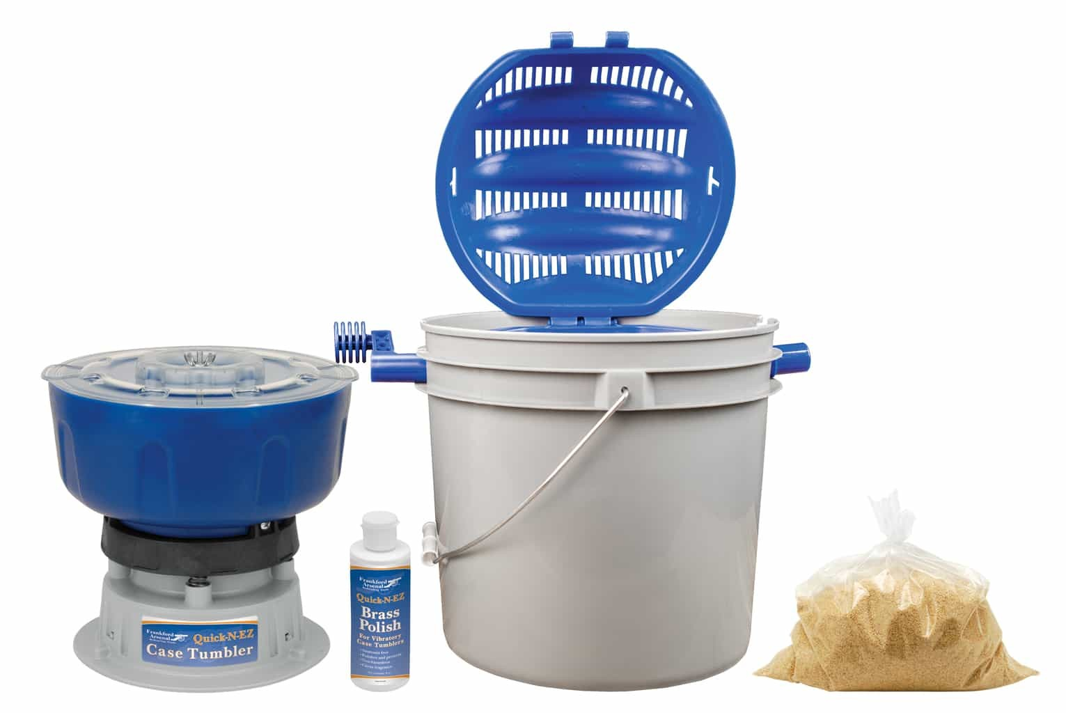 Frankford Arsenal Quick-N-EZ Vibratory Tumbler & Rotary Sifter Kit