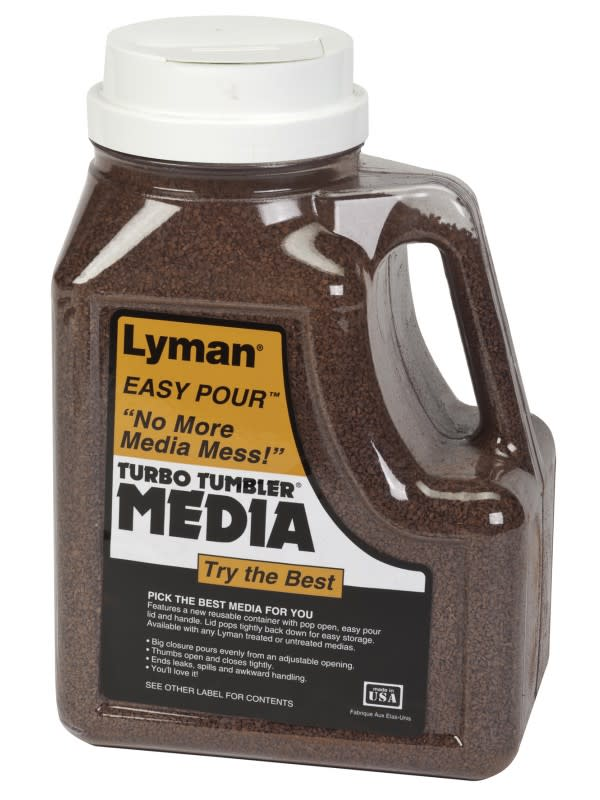 Lyman Easy Pour Treated Tufnut Media - 7 lbs.