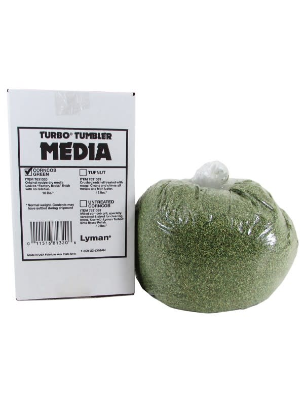 Lyman Treated Corn Media - 10 lbs.
