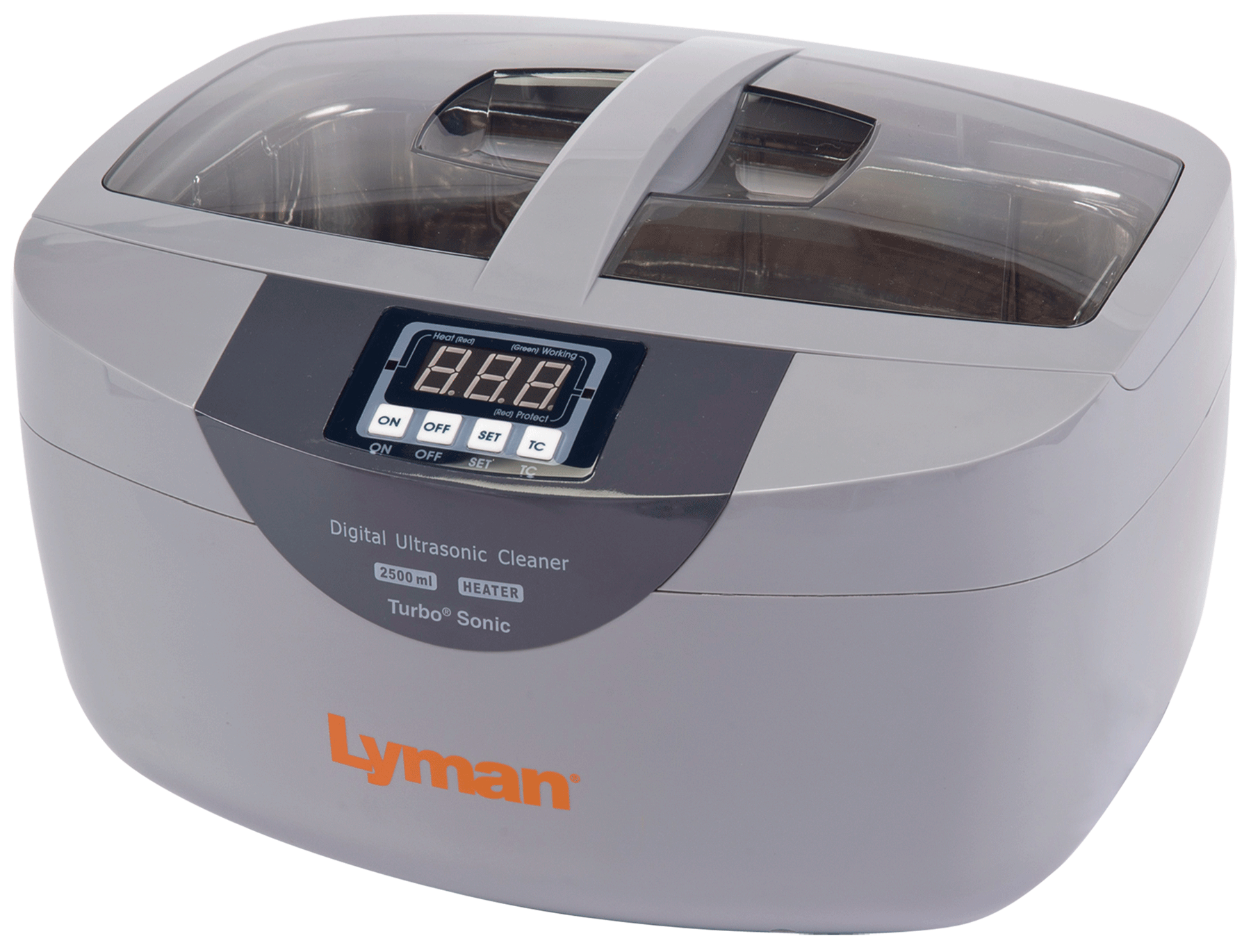 Lyman Turbo Sonic 2500 Ultrasonic Case Cleaner - 2.6 Quart