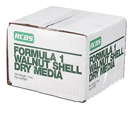 RCBS Formula 1 Walnut Shell Media - 5 lbs.