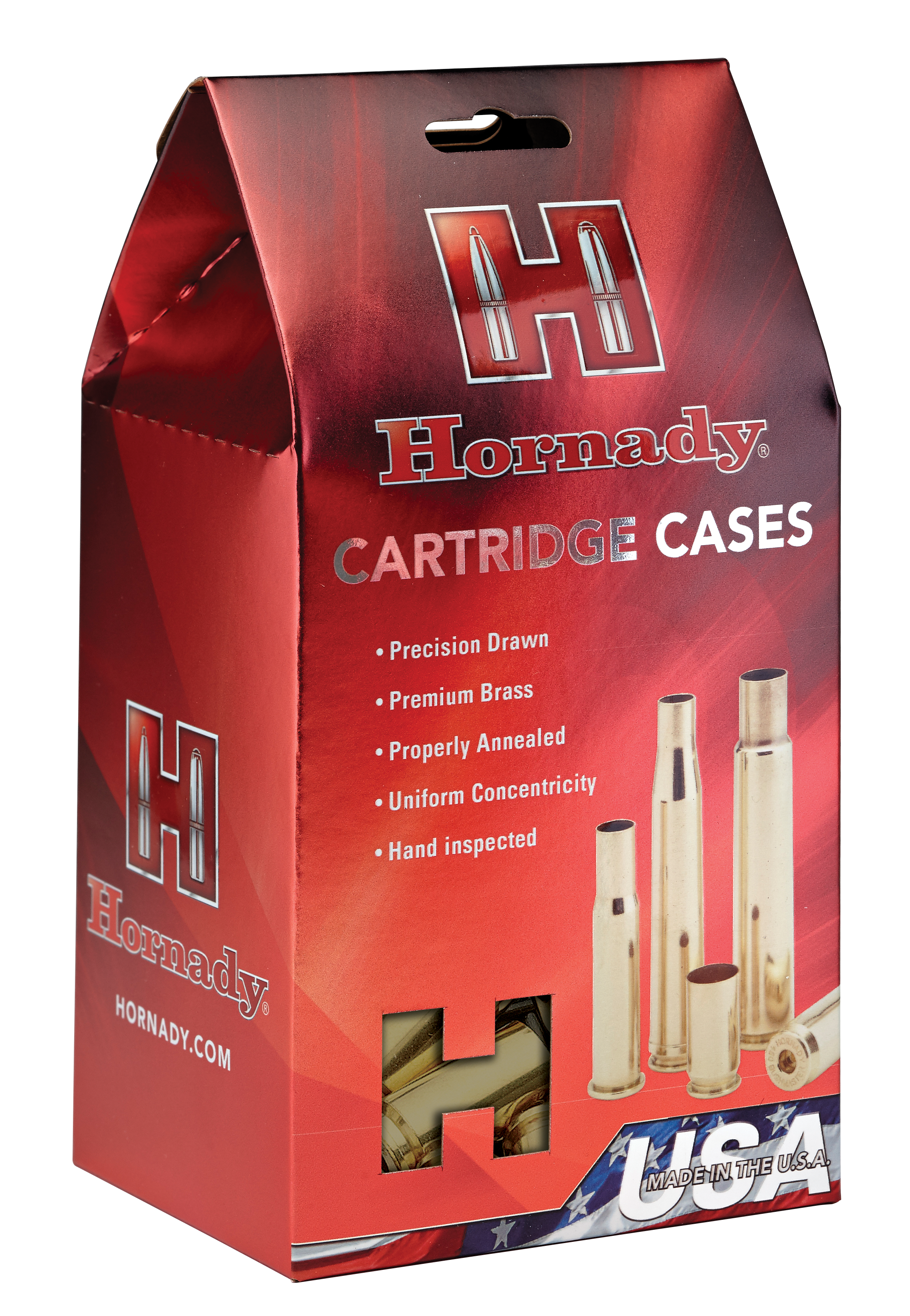Hornady Rifle Brass - 33 Nosler - Per 20