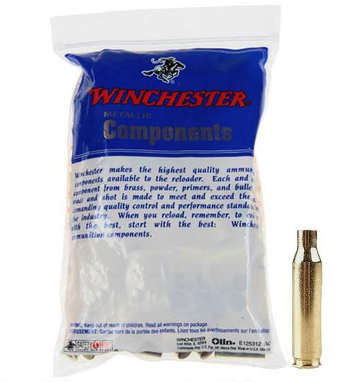Winchester Rifle Brass - 325 Winchester Short Magnum (WSM) - Per 50