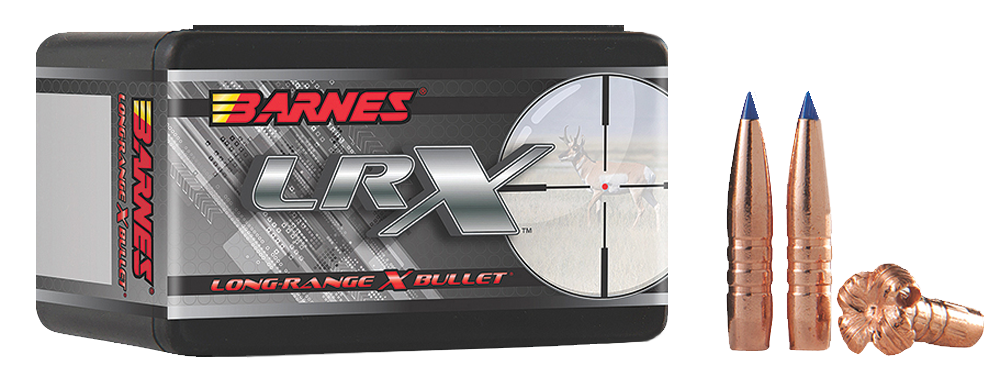 Barnes LRX Rifle Bullets .30 Caliber (0.308 Diameter) 175GR Polymer Tip Boat Tail Per 50