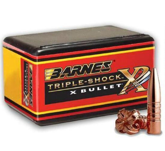Barnes TSX Rifle Bullets .30 Caliber (0.308 Diameter) 165GR Hollow Point Boat Tail Per 50