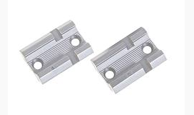 Weaver Top Mount Pair 2-pc Bases - Remington 700 - Weaver - Silver - Aluminum