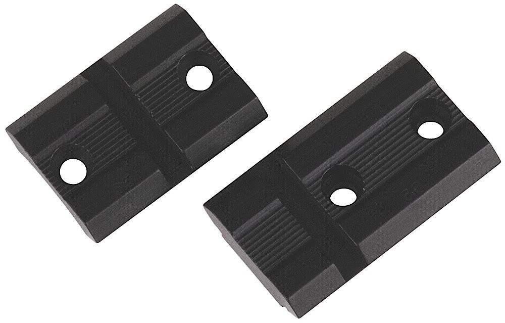 Weaver Top Mount Pair 2-pc Bases - Mossberg 500/835 - Weaver - Matte - Aluminum
