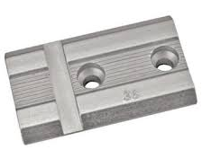 Weaver Top Mount 1-pc Base - #35S - Weaver - Silver - Aluminum
