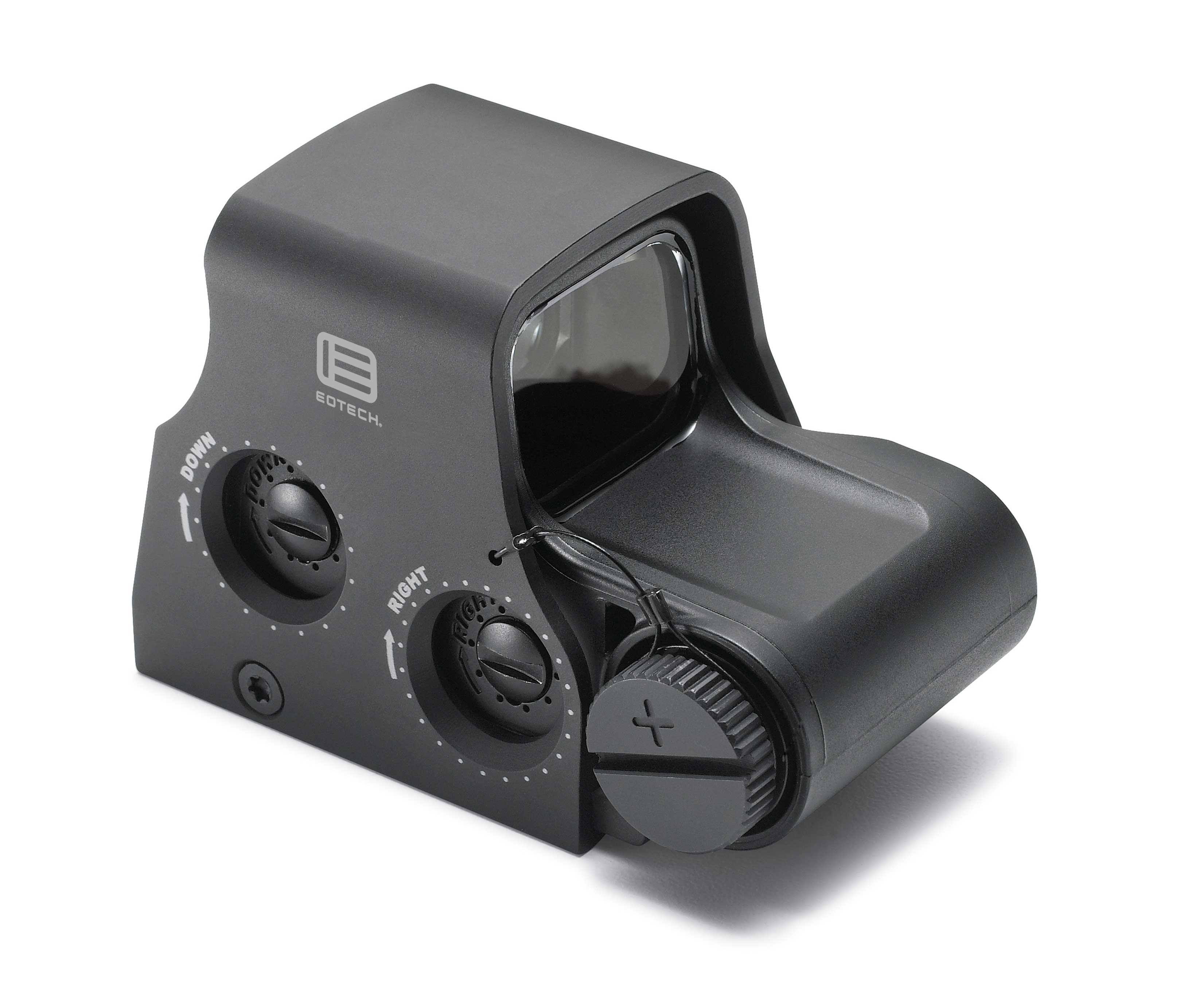 EOTech HWS Model XPS3-2 Holographic Sight - 1x - Illum. 68 MOA Ring w/ 2 1-MOA Dots - 1 MOA Red Dot - Matte