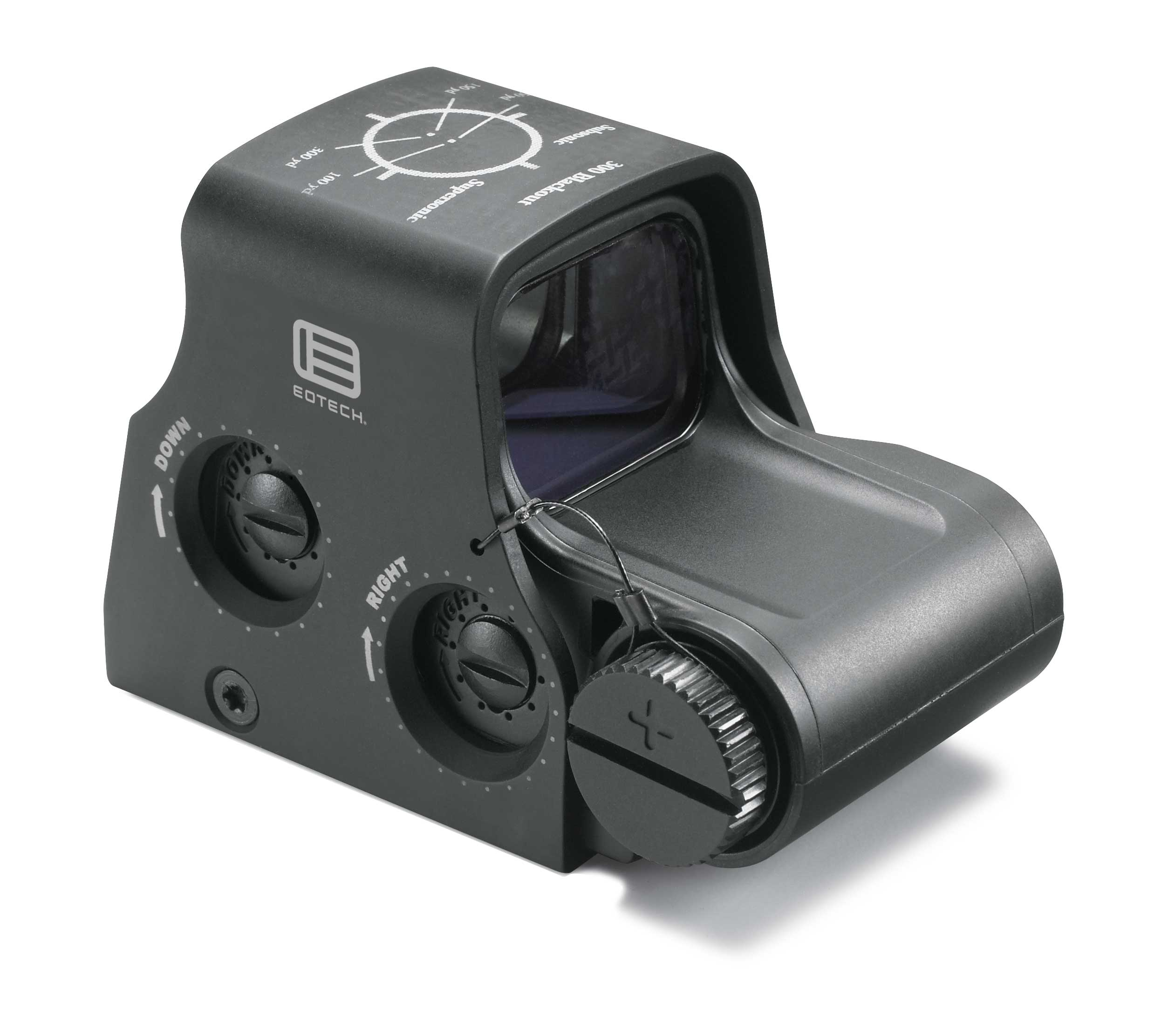 EOTech HWS Model XPS2-300 Holographic Sight - 1x - Illum. 300 Blackout Ring w/ 2 1-MOA Dots - 1 MOA Red Dot - Matte