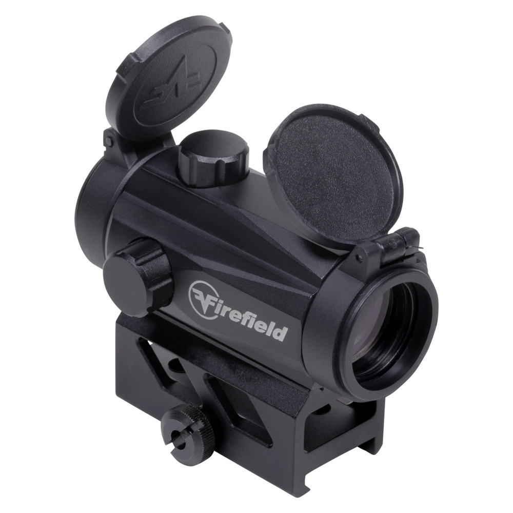 Firefield Impulse Compact with Red Laser Red-Dot Sight - 1x - Illum. Circle Dot - Red/Green Dot - Matte