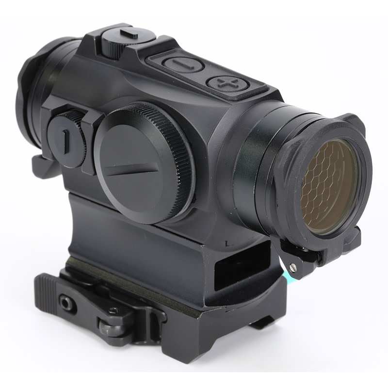 Holosun HS515GM Compact Red-Dot Sight - 1x - Illum. Multi-Reticle System - 2 MOA Red Dot - Matte