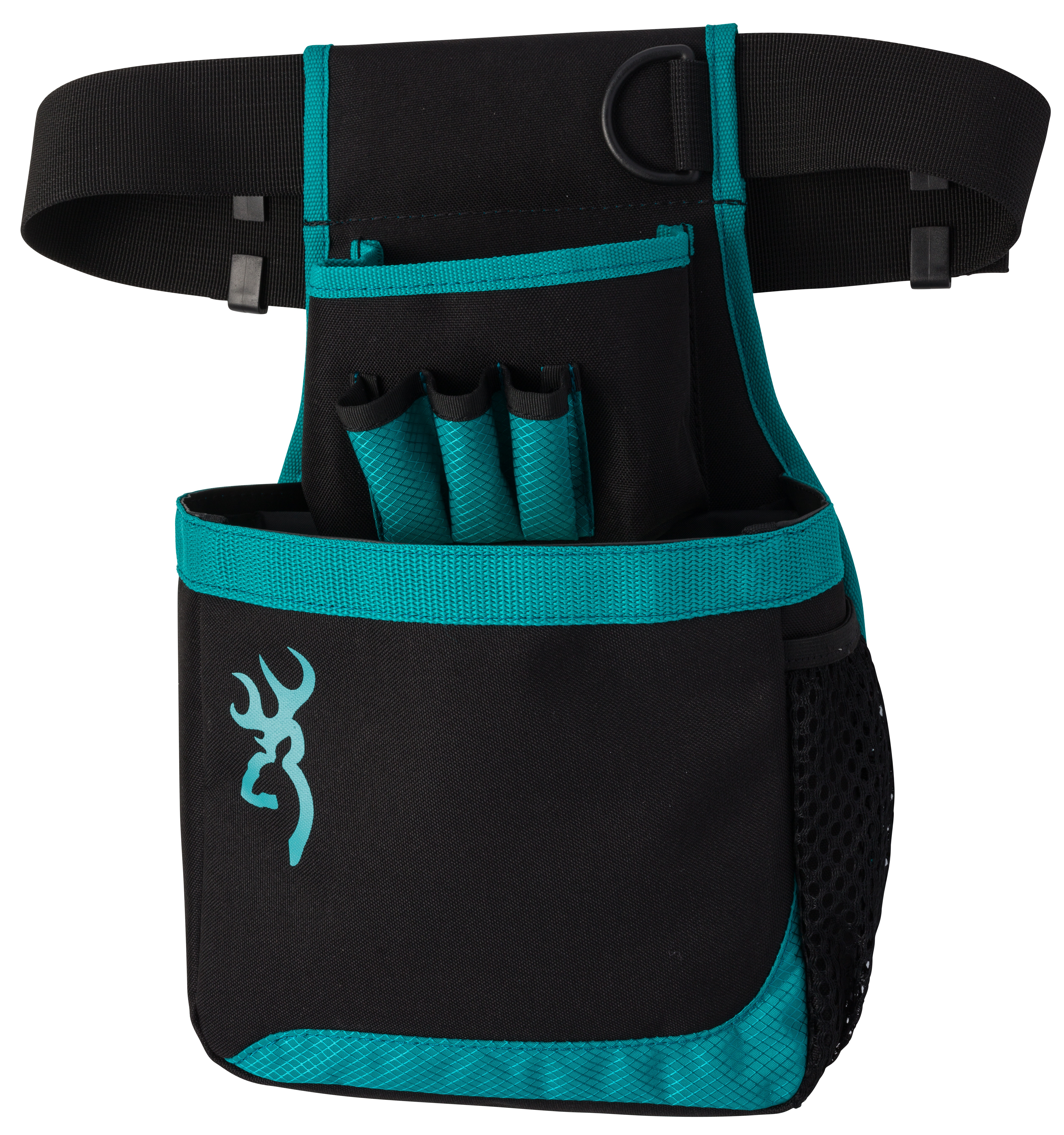 Browning Flash Shell Pouch - Black/Teal