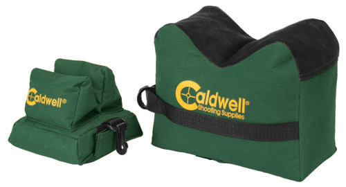 Caldwell DeadShot Shooting Bag Front and Rear Bag - Filled