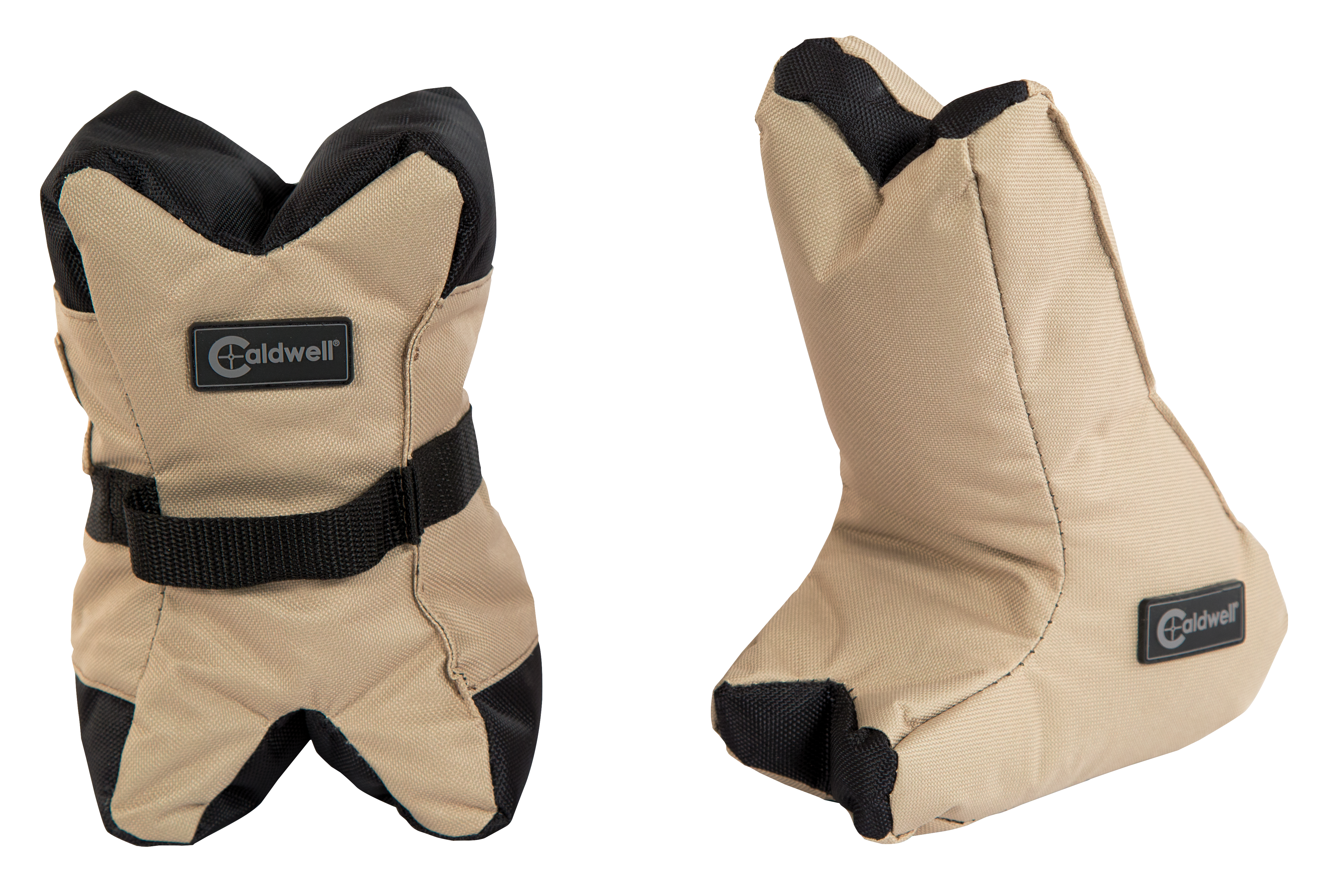 Caldwell AR DeadShot Shooting Bag Front and Rear Bag - Filled