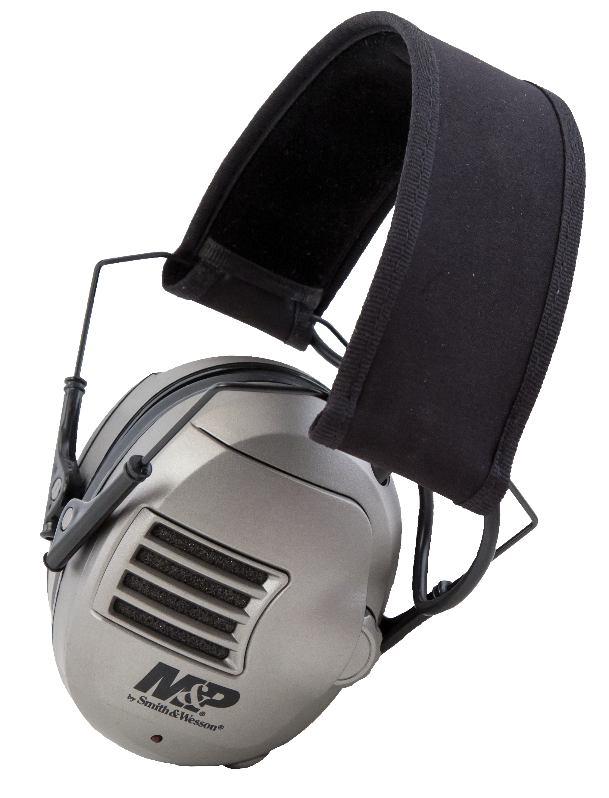 Smith & Wesson M&P Alpha Electronic Earmuffs NRR 23 dB - Black/Gray