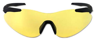 Beretta Soft Touch Shooting Glasses Yellow Lens - Black Frame