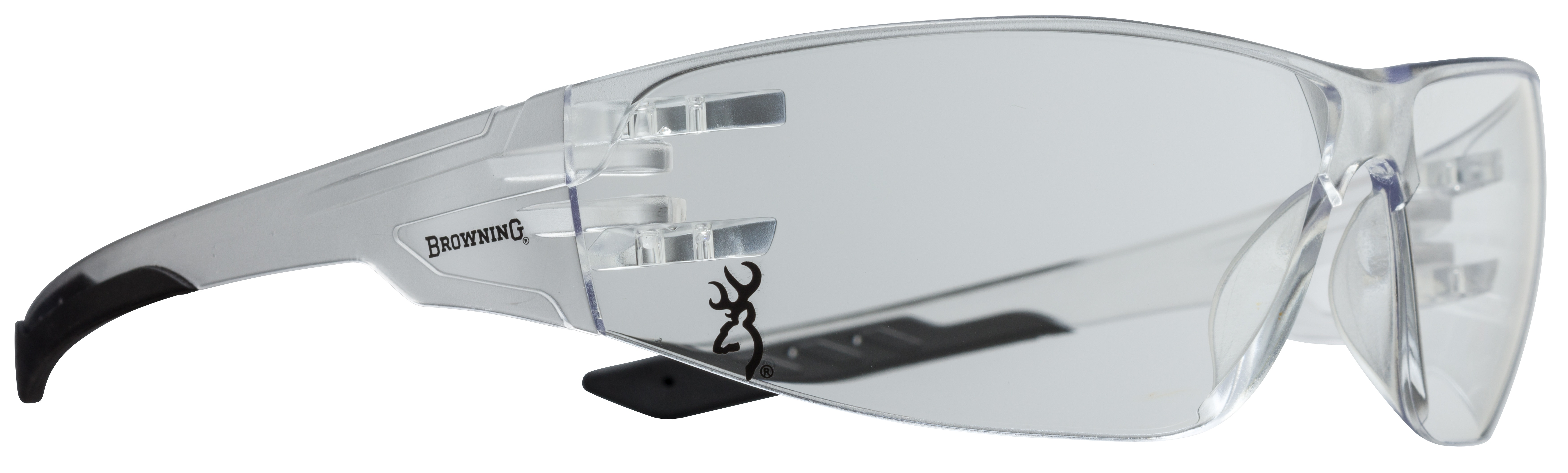 Browning Shooters Flex Shooting Glasses - Clear Lens - Clear Frame