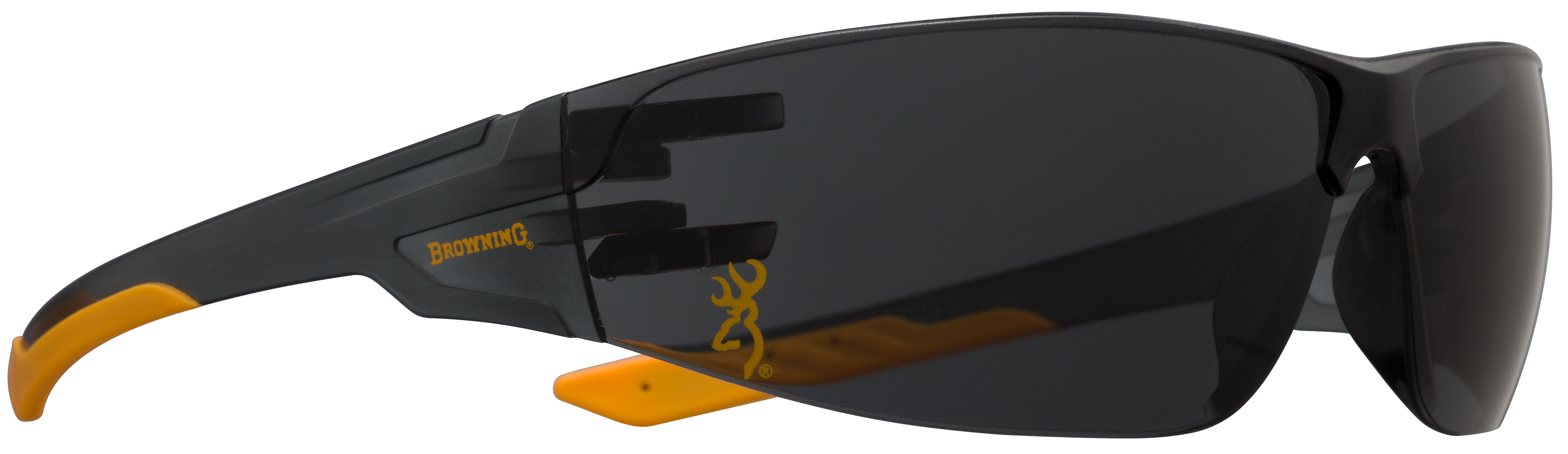 Browning Shooters Flex Shooting Glasses - Smoke Lens - Black Frame