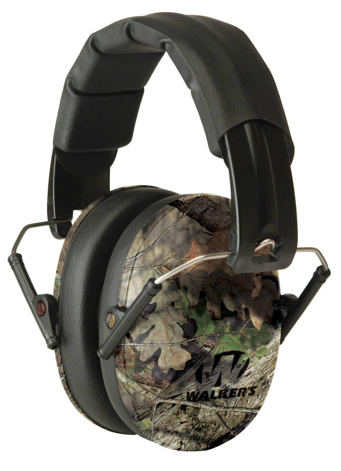 Walker's Pro Low Profile Passive Earmuffs NRR 22 dB - Mossy Oak