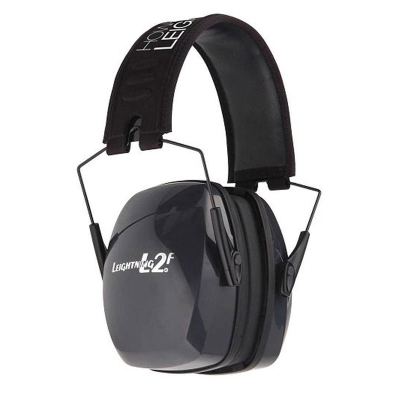 Howard Leight Leightning L2F Passive Earmuffs NRR 27 dB - Black