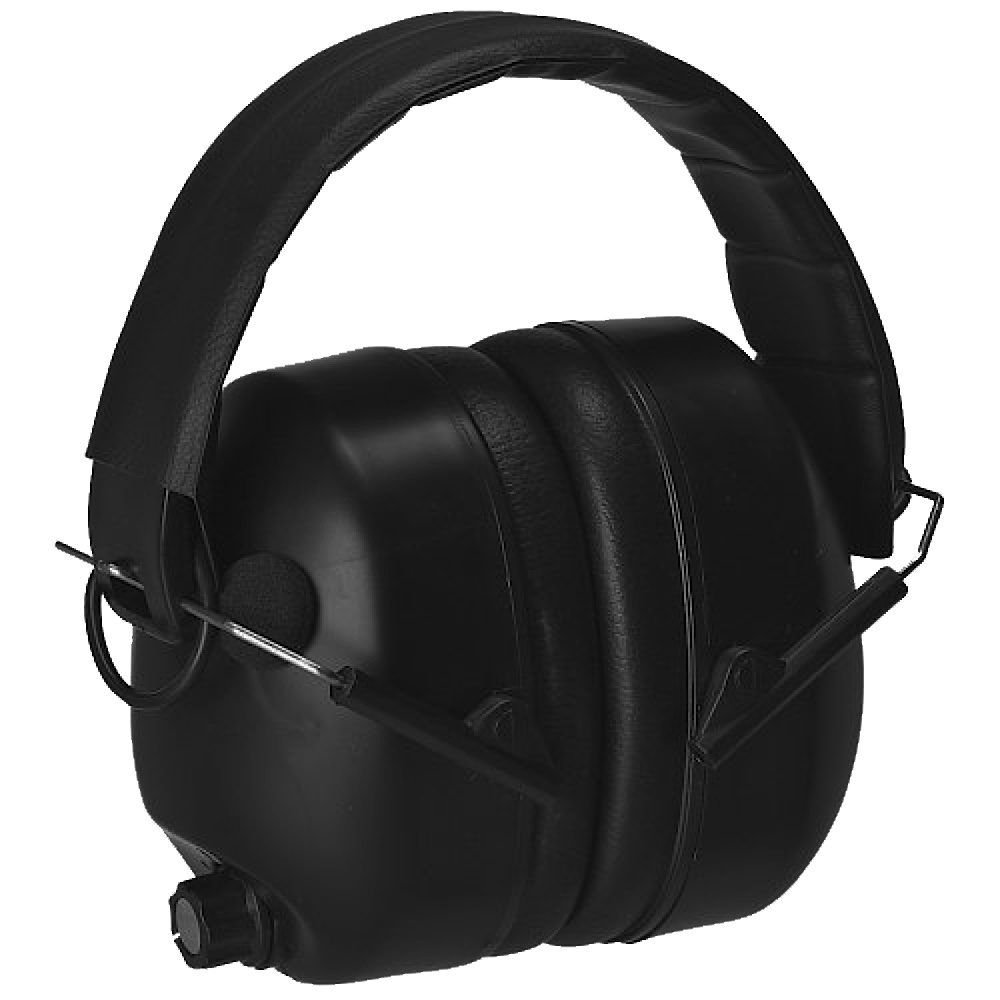 Radians 430-EHP Electronic Earmuffs NRR 27 dB - Black