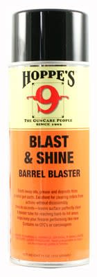 Hoppe's Blast & Shine Barrel Cleaner Spray - 11 oz - Aerosol