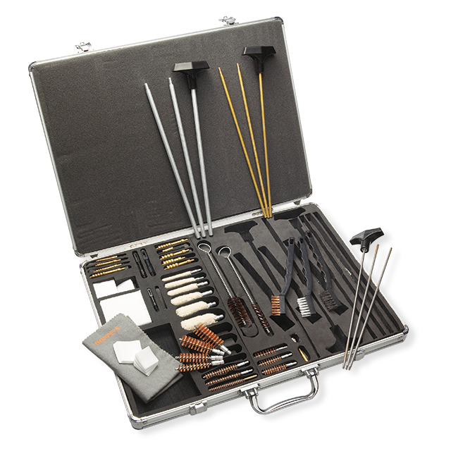 Hoppe's Premium Universal Cleaning Kit - 37 Piece - Aluminum Case