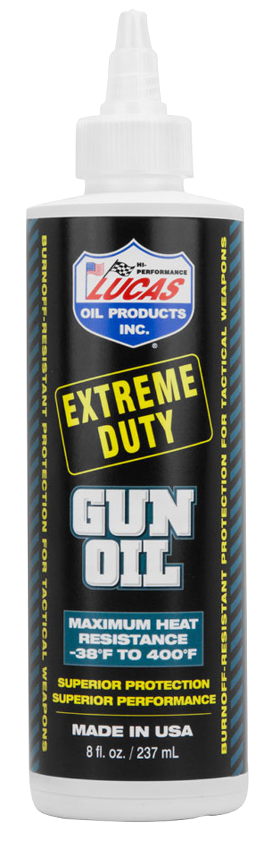 Lucas Oil Extreme Duty Gun Oil - 8 oz - Liquid