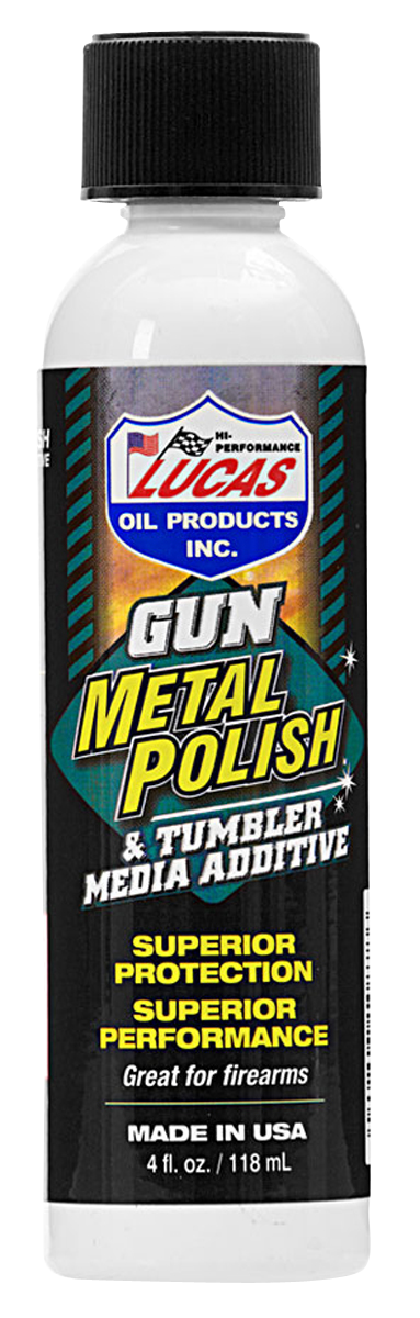 Lucas Oil Gun Metal Polish - 4 oz - Liquid