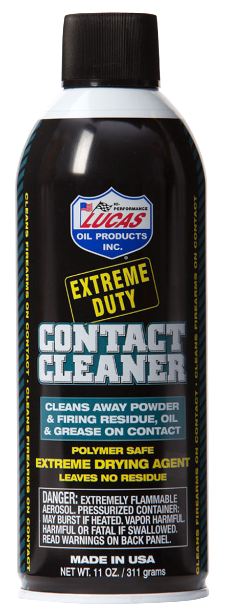 Lucas Oil Extreme Duty Contact Cleaner Spray - 11 oz - Aerosol