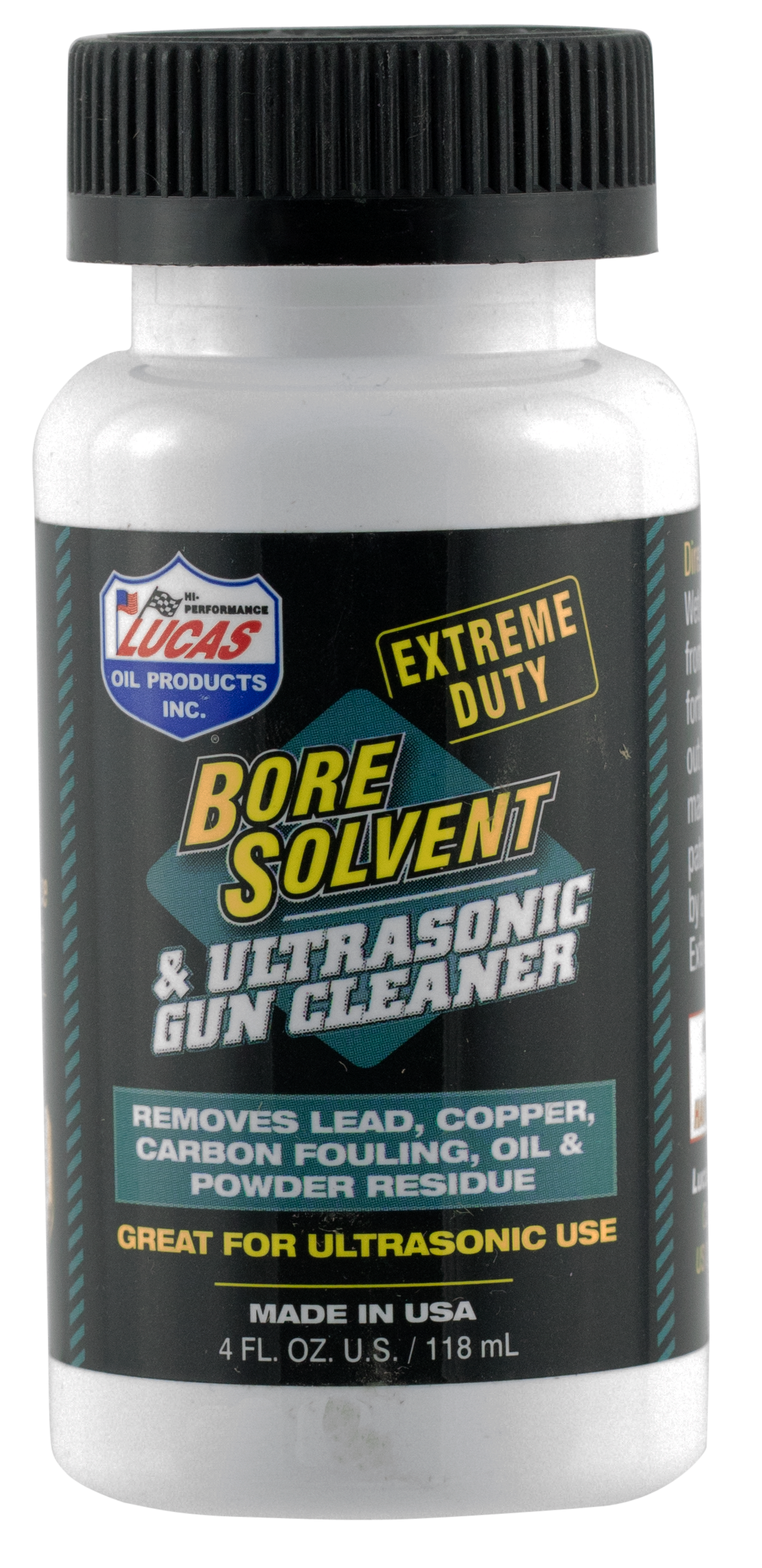Lucas Oil Extreme Duty Bore Solvent & Cleaner - 4 oz - Liquid