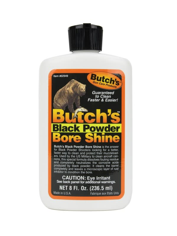 Butch's Black Powder Bore Shine Bore Cleaner - 8 oz - Liquid