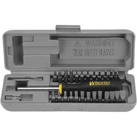 Wheeler SpaceSaver Screwdriver Set - 26 Piece