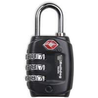 Bulldog TSA Combination Lock .75