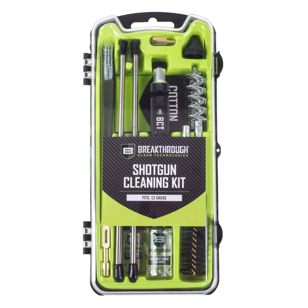 Breakthrough Clean Vision Series Shotgun Cleaning Kit - 12 Gauge