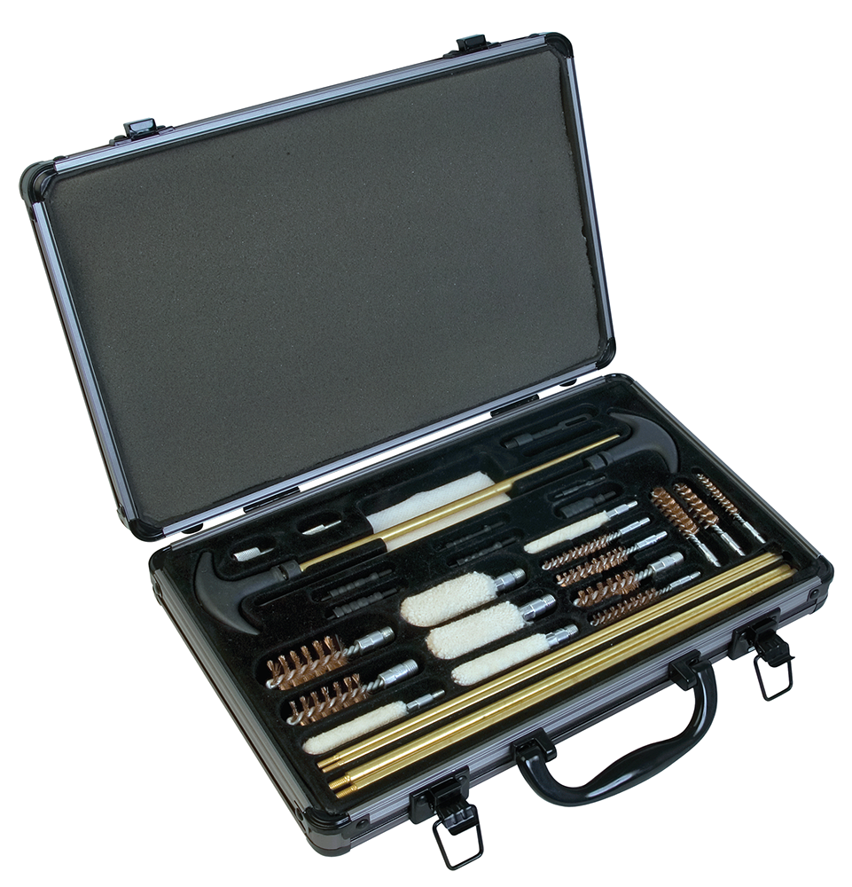 Outers Universal Cleaning Kit - 32 Piece - Aluminum Case