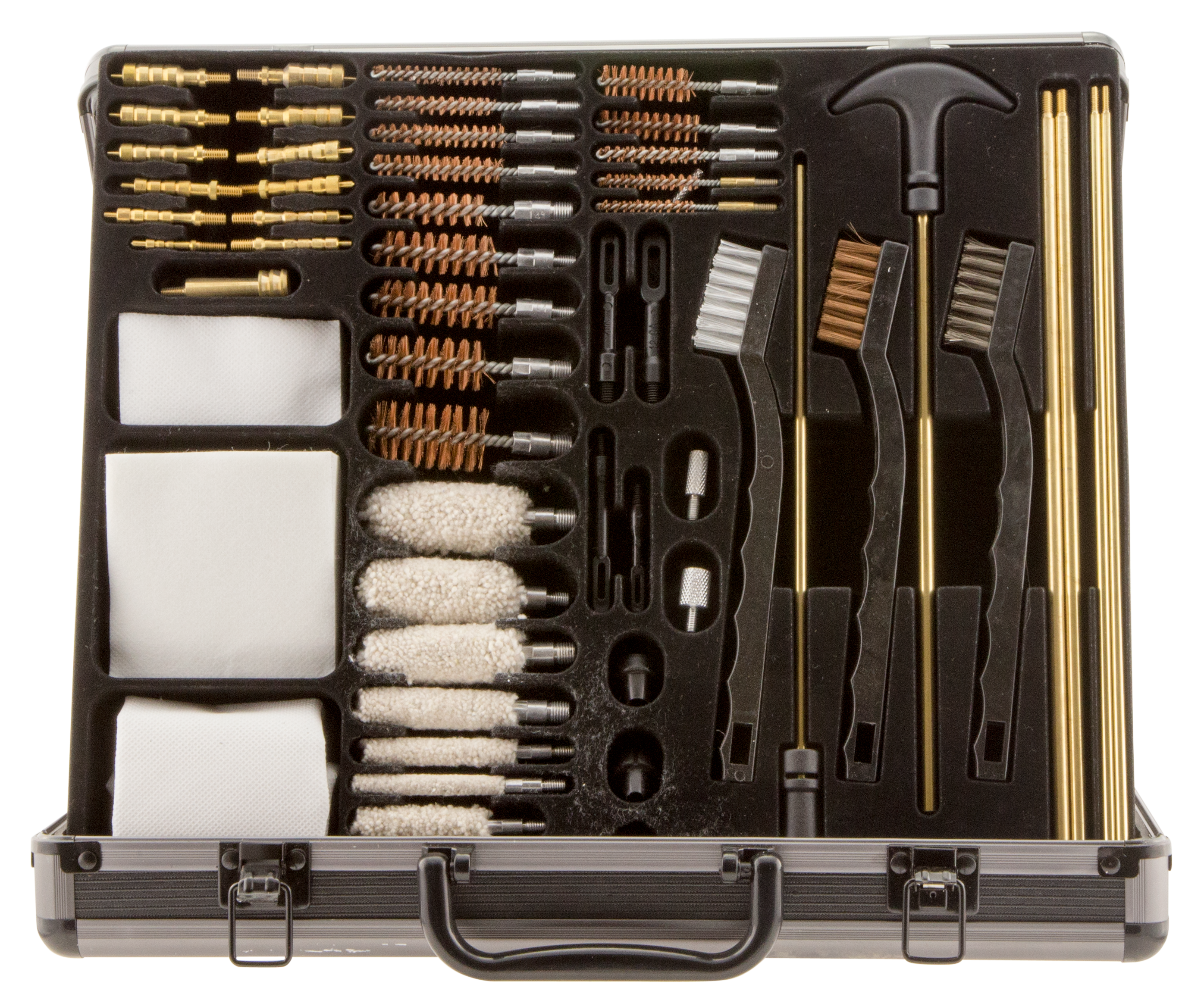Outers Universal Cleaning Kit - 62 Piece - Aluminum Case