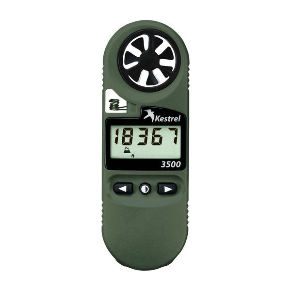 Kestrel 3500NV Weather Meter - with Backlit Display