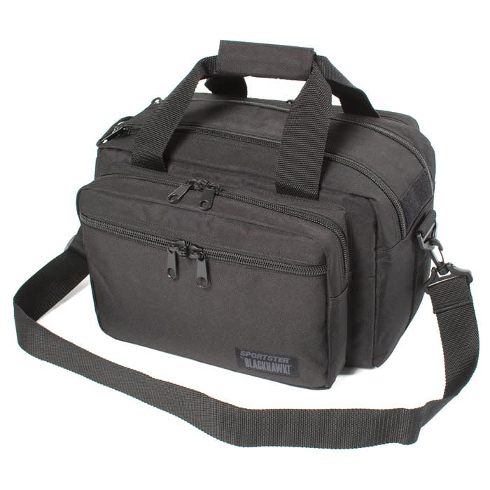 BLACKHAWK! Sportster Deluxe Range Bag - Black