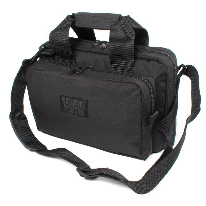 BLACKHAWK! Sportster Shooter's Bag - Internal Organization System - Black